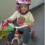 瑚々奈 自転車に乗る