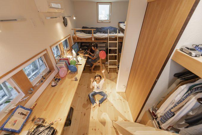 FULL HOUSE 子ども部屋