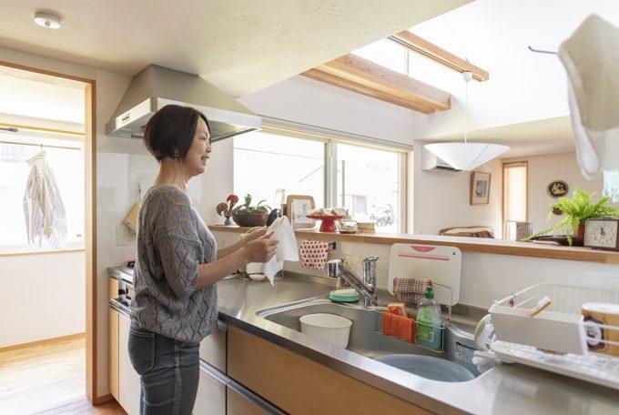 つなぐ家 キッチン